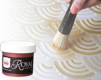 The Perfect Stencil Paint: Royal Stencil Crèmes for Wall Stenciling and More