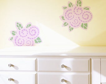 Wall Art Stencil Floral Deco Doily Pattern for Fun Wall Decor