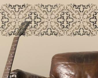 Wall Pattern Stencil Italianate Border Stencil for Wall Decor and More