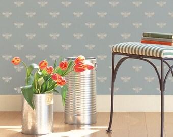 Wall Stencil What's The Buzz Allover Stencil for Elegant DIY Wall Decor