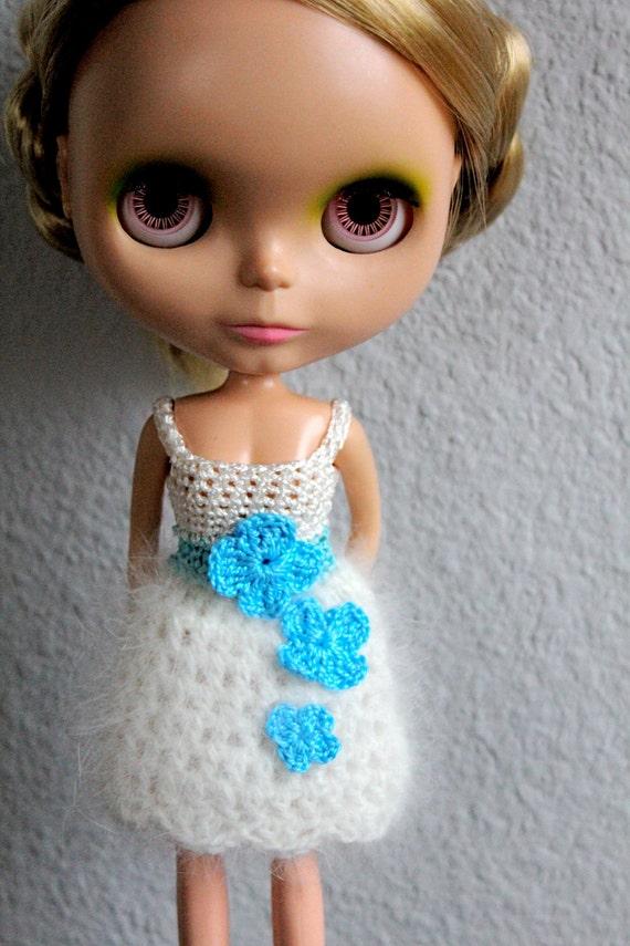 BETTS DRESS Turquoise-Turquesa