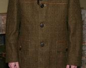 Gentlemens Wool Tweed Overcoat by Cortefiel