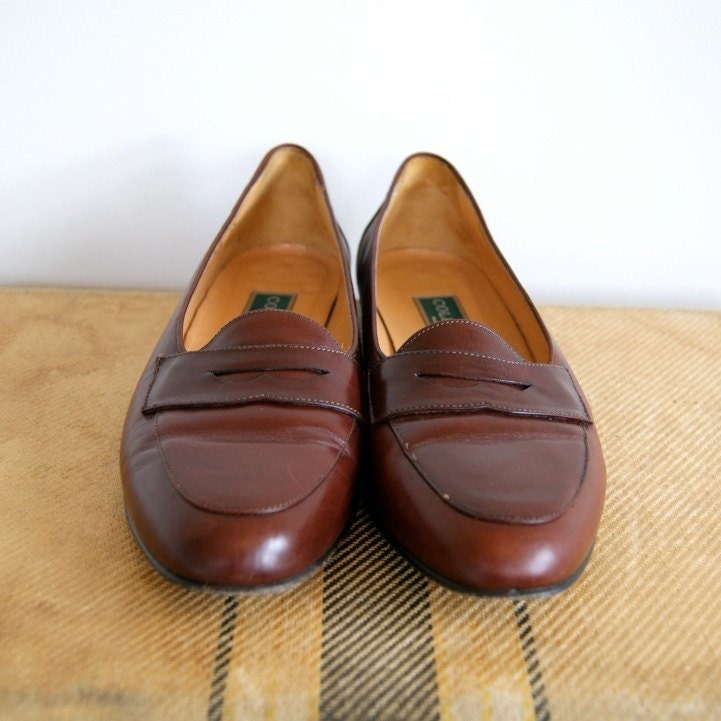 Vintage Cole Haan Penny Loafers. Women's Size 7.5. Late