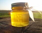 reserved for rwielgos - 2 Pure Raw Spring Honeys - 11 ounce glass mason jar -  Black Locust honey