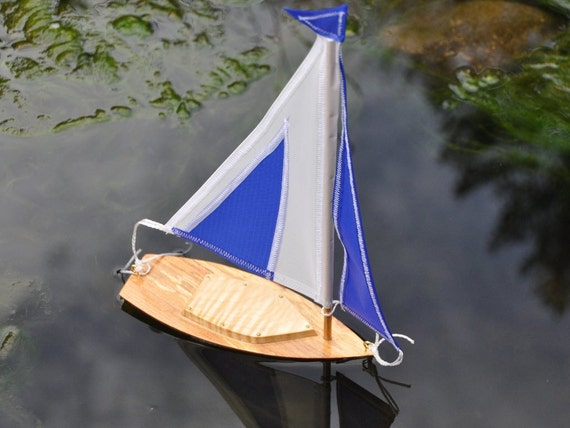 Toy wooden Sailboat