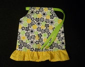 18 inch Doll Clothes American Girl Sun Dress, Daisies on Daisies