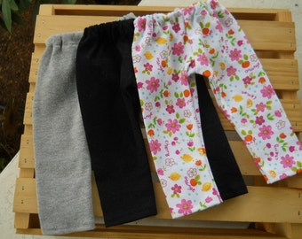 18 inch Doll Clothes  fits American Girl; Knit Leggings for 18 inch dolls; Doll Leggings; Leggings for dolls