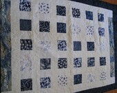 Nautical Theme Block Quilt - 58 by 78 Inches