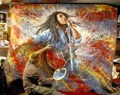 Bob Marley Original art, painting - loose canvas