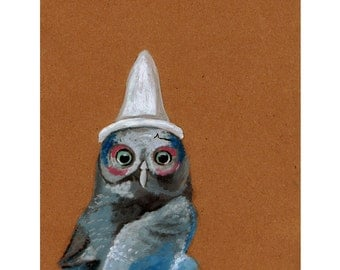 Ashes to Ashes Owl print