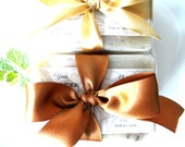 Beautiful Gift Set of Three - Your Choice - Pure & Natural Olive Oil Soaps