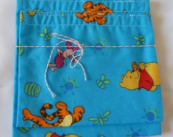 SALE!! RE-USABLE Bags- Set of 2- Winnie the Pooh