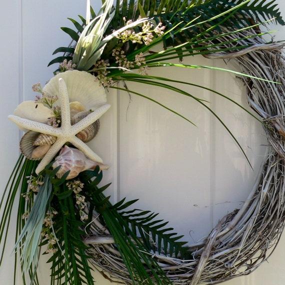 Beach Wreath for Garden or Door