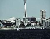 5x7 Seattle of Ol'  - Fine Art Photography Print