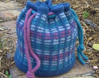 Panes Bag Knitting Pattern