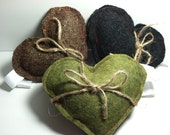 Reserved Heart-shaped Hand Warmers SET OF 3 PAIRS