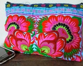 Ethnic Vintage style Hmong Tribe purse Bag , Thailand