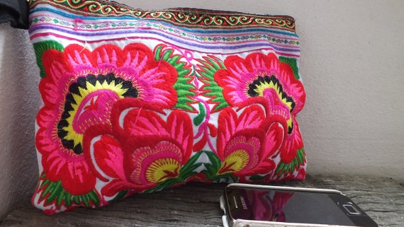 Ethnic Vintage purses bag, Hmong fabric Tribe Bags and purses, Thailand