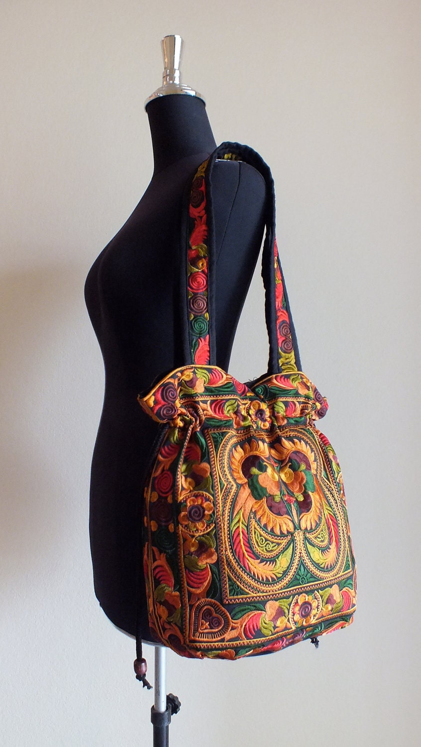 Ethnic handmade bag vintage style work beautifulBoho Bags