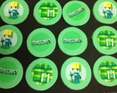 Minecraft Themed Cupcake Toppers ON SALE