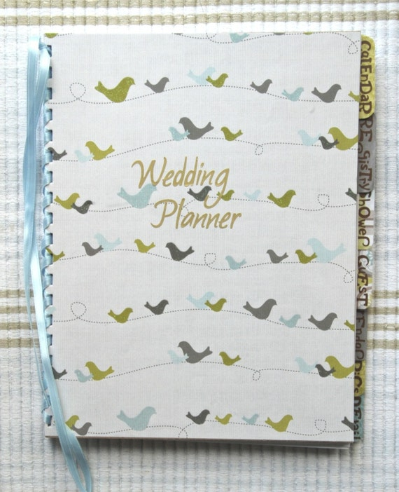 Items Similar To Custom Handmade Personalized Wedding Planner And Organizer Or Destination On Etsy