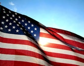 American Flag, Photo Print