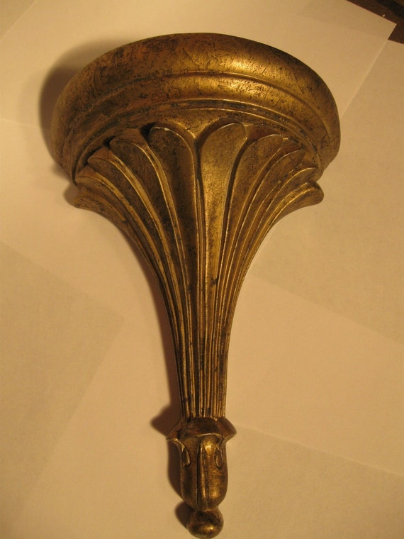 Italian Style Wall Sconces : French or Italian Style Wall Sconce Shelf