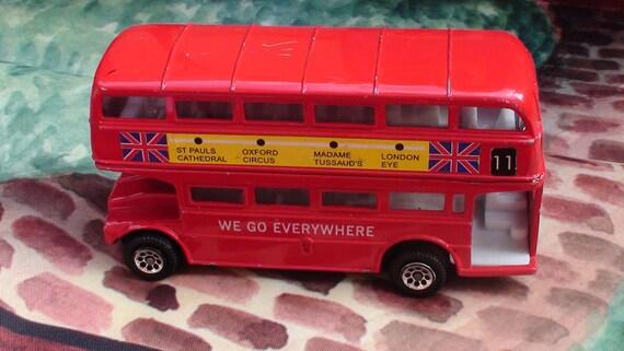 4.5 Inch Metal London Bus Number 11