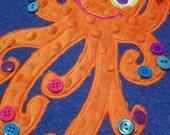 Funky Olivia Octopus Machine Applique Designs