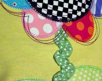 Whimsy Daisy Machine Applique Design