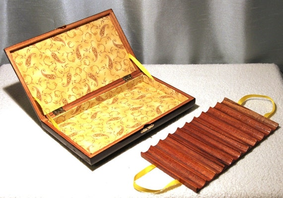 Wood Cigar Box Upcycled for Jewelry or Storage, Rocky Patel Treasure Box