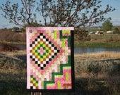 Art Quilt, Spring Journey