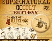 Supernatural Occolt Buttons
