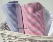Set of 2-Turkishtowel-Peshtemal-High Quality,Turkish Cotton,Bath,Beach,Spa,Yoga,Pool Towel or Sarong-Sailor Blue and Red Stripes on White