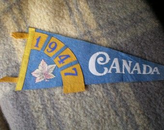 Vintage Canadian Pendant from 1947