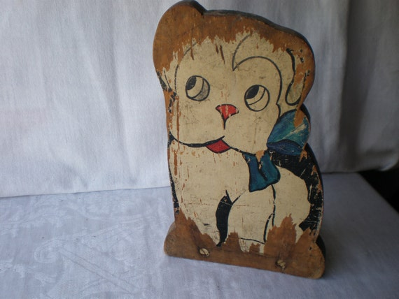 Adorable Vintage Doggie Doorstop