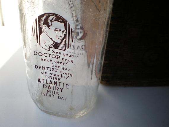 Really Nice Old Milk Bottle