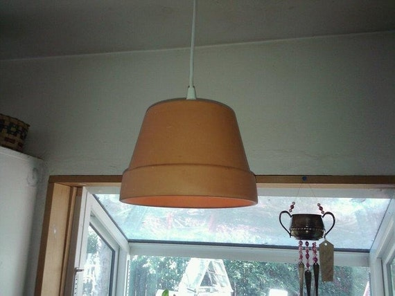 Terracotta Pot Lamp