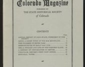 Irwin Ghost Town Coraville Early Denver Post Office CO 1947 Colorado Magazine History