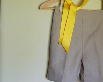 LINEN Shorts for boys - Custom Sizes 12m - 6