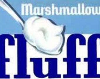 Marshmallow Fluff Handmade Lip Balm .15 oz