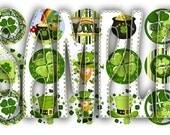 St. Patricks Day Digital Bottle Cap Images