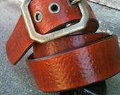Hammered Saddle Tan