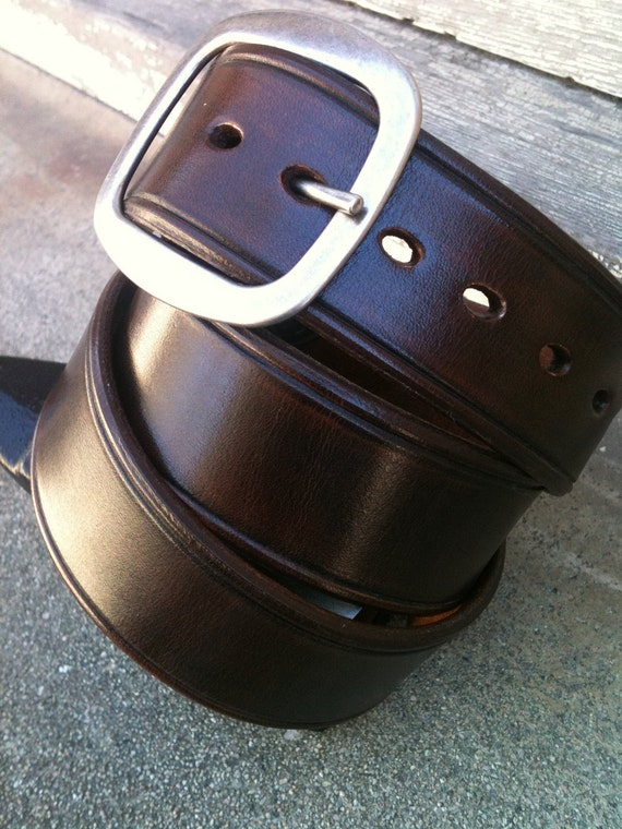 Café Bohème Handcrafted Leather Belt