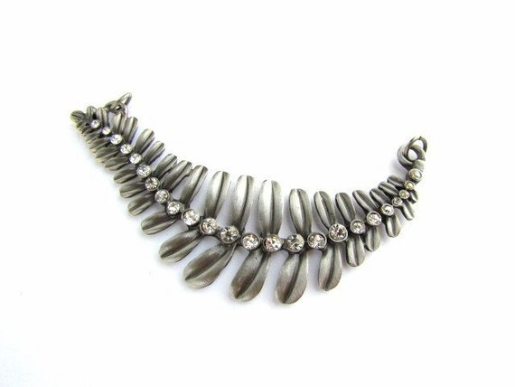 Reserved for VOOGS Choker style Leaf Pendant
