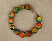 Hand-crafted Fused Gem Bracelet