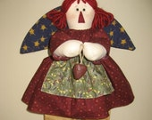Angel Soft Sculpture Doll - Raggedy Abbie - Original Design