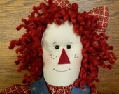 Raggedy Red Doll - Original Design