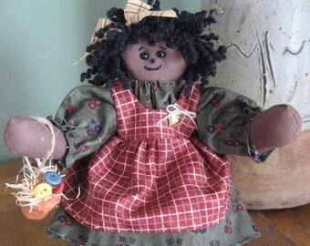 Black Soft Sculptured Doll - Kimea