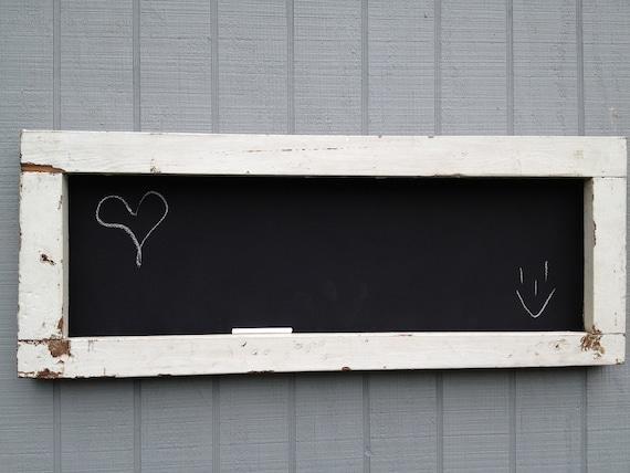 Rustic Wood Chalkboard: For Briana